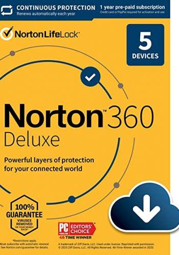 norton 360 deluxe 5 device